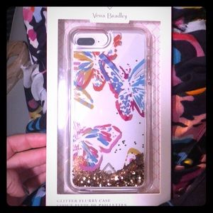 Glitter Flurry Case iPhone7+/8+ Butterfly Flutter
